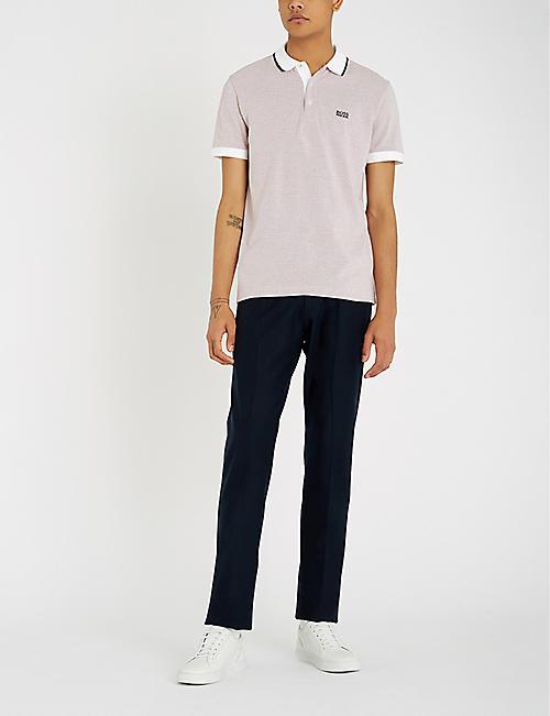eef876384 BOSS - Polo shirts - Tops & t-shirts - Clothing - Mens - Selfridges ...