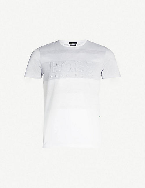 d7d4417f BOSS - Tops & t-shirts - Clothing - Mens - Selfridges | Shop Online