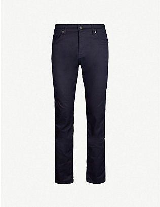 BOSS: Regular-fit tapered jeans