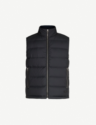 HUGO Quilted shell and down-blend gilet
