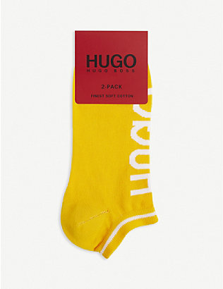 HUGO: Logo ankle socks