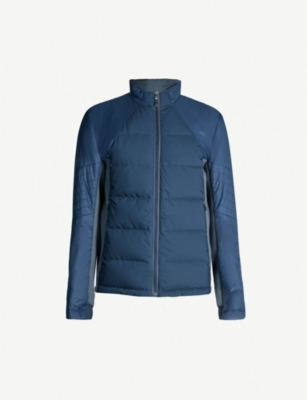 BOSS Link² quilted shell down and feather-blend gilet