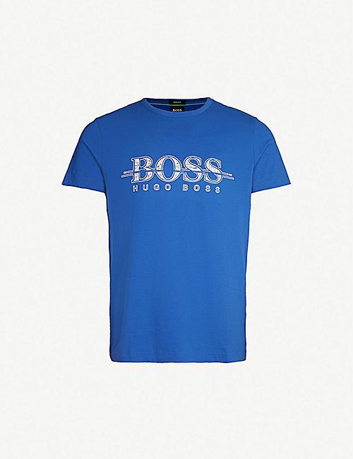 9fcf538db BOSS - Tops & t-shirts - Clothing - Mens - Selfridges | Shop Online