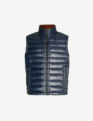 BOSS Quilted padded gilet
