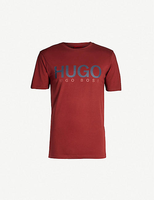7818612dd HUGO - Printed T-Shirts - T-Shirts - Tops & t-shirts - Clothing ...
