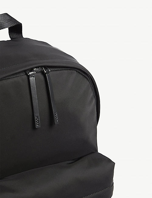HUGO Logo nylon backpack