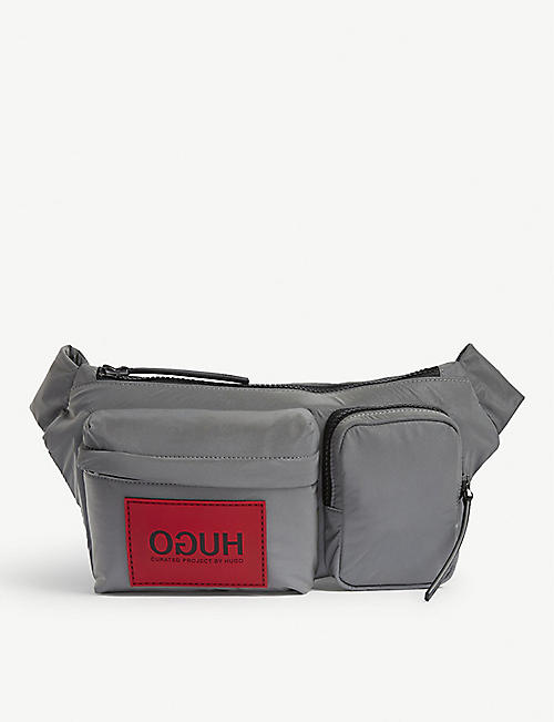 HUGO Nylon belt bag