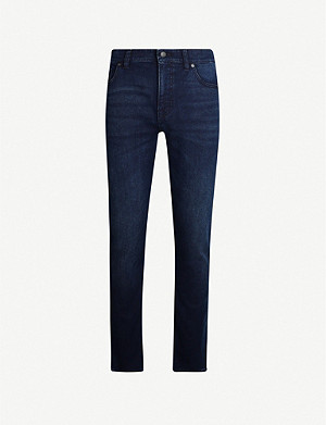 BOSS Slim-fit straight jeans