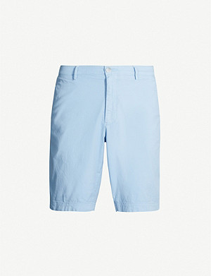 BOSS Slim-fit stretch-cotton shorts