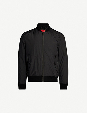 HUGO Padded shell bomber jacket