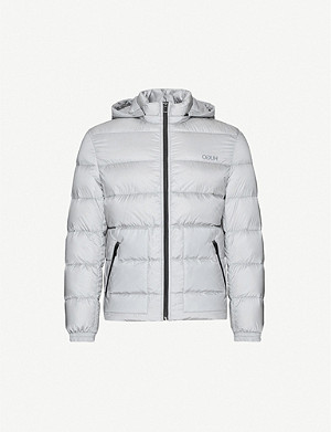 HUGO High-neck shell-down jacket