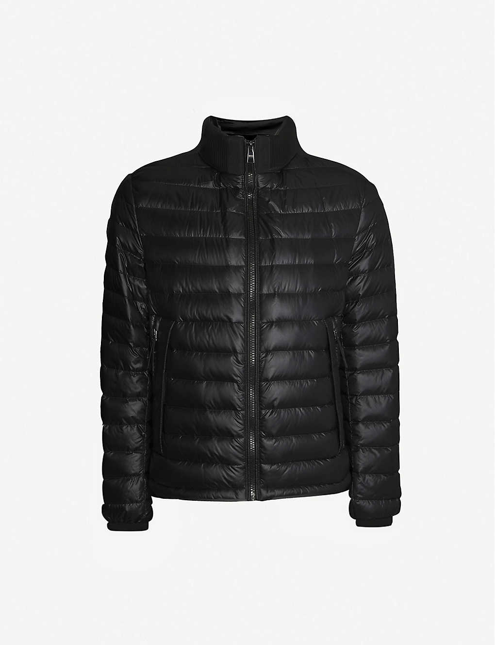 BOSS: High-neck padded shell jacket