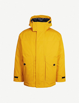 BOSS Padded cotton-blend and down parka