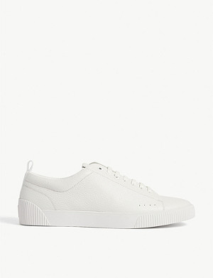 HUGO Zero leather tennis shoes