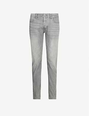 BOSS Leisure regular-fit tapered denim jeans