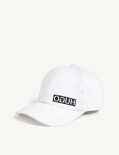 HUGO Reverse logo cotton cap