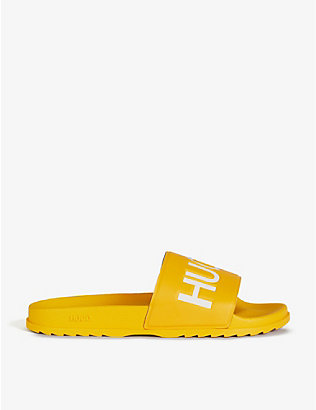 HUGO: Logo embossed slides