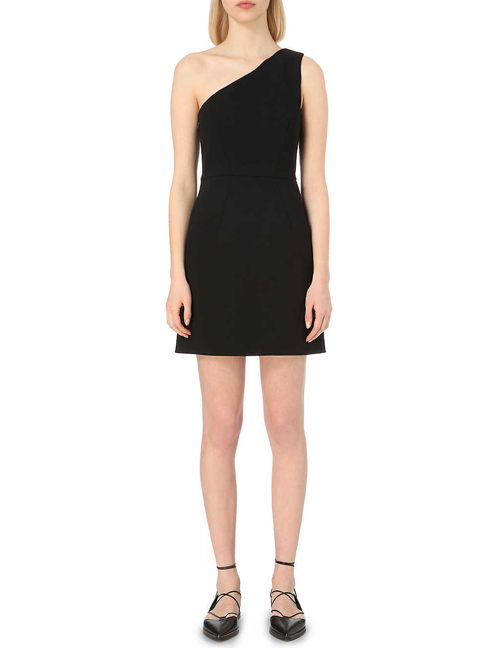64a5353e65d WHISTLES - Estelle one-shoulder dress | Selfridges.com