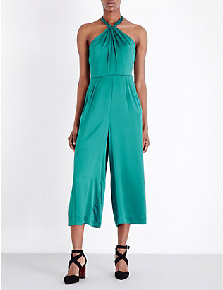WHISTLES: Sophia silk jumpsuit
