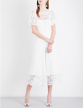 WHISTLES: Victoria lace wedding jumpsuit
