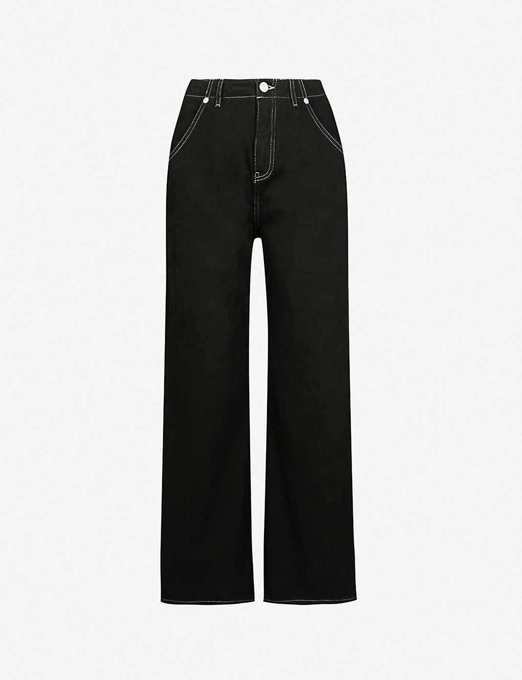 ad94861fb WHISTLES - Gabi wide-leg high-rise jeans | Selfridges.com