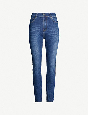WHISTLES Mid-rise skinny jeans