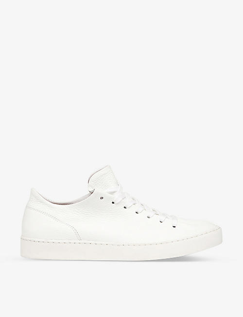 WHISTLES Folly leather trainers