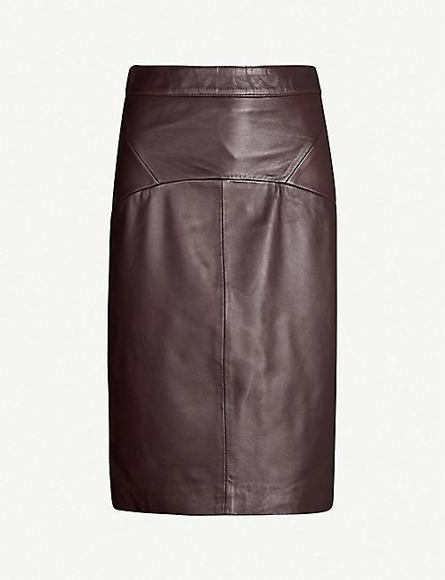 66b881d3f9 Leather - Skirts - Clothing - Womens - Selfridges   Shop Online