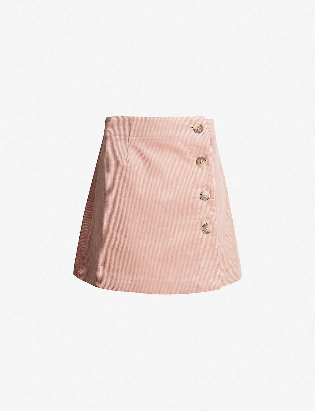 075f209eb0 WHISTLES - Cord high-rise corduroy mini skirt | Selfridges.com