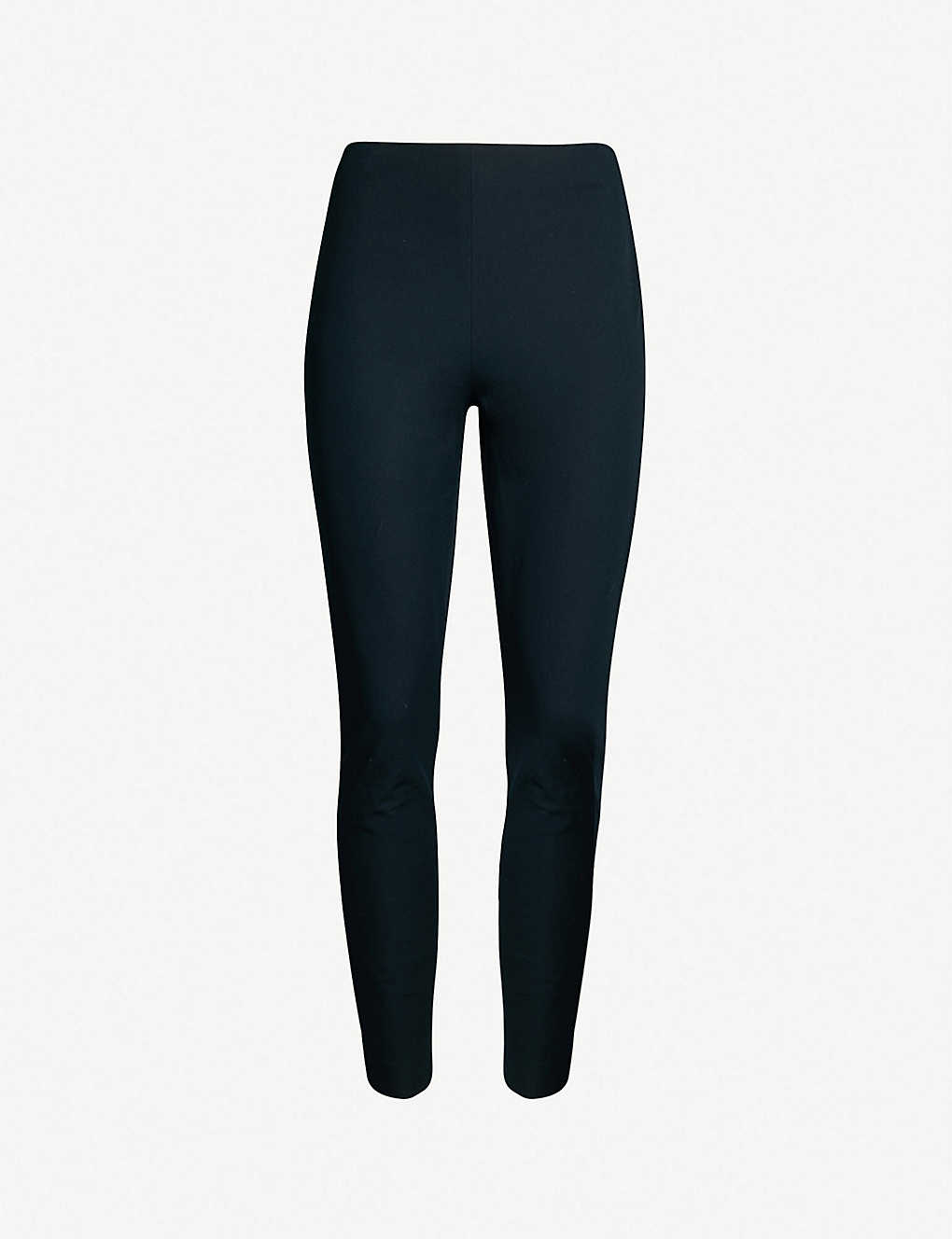 WHISTLES: Skinny slim-fit stretch-cotton trousers
