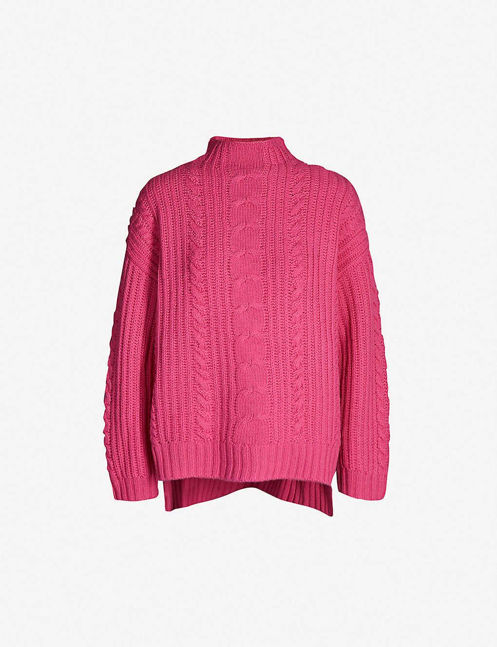 f98973e9e75 Oversized wool-blend knitted jumper
