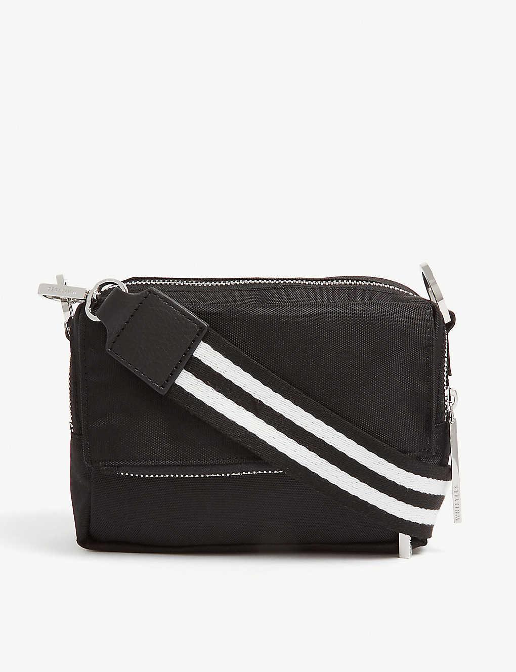 1826cf804c3d WHISTLES - Bibi nylon cross-body bag | Selfridges.com