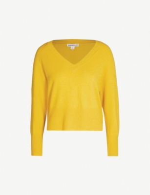 WHISTLES Sustainable cashmere and wool-blend jumper
