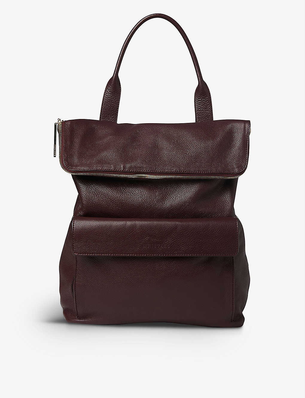 WHISTLES: Verity leather backpack