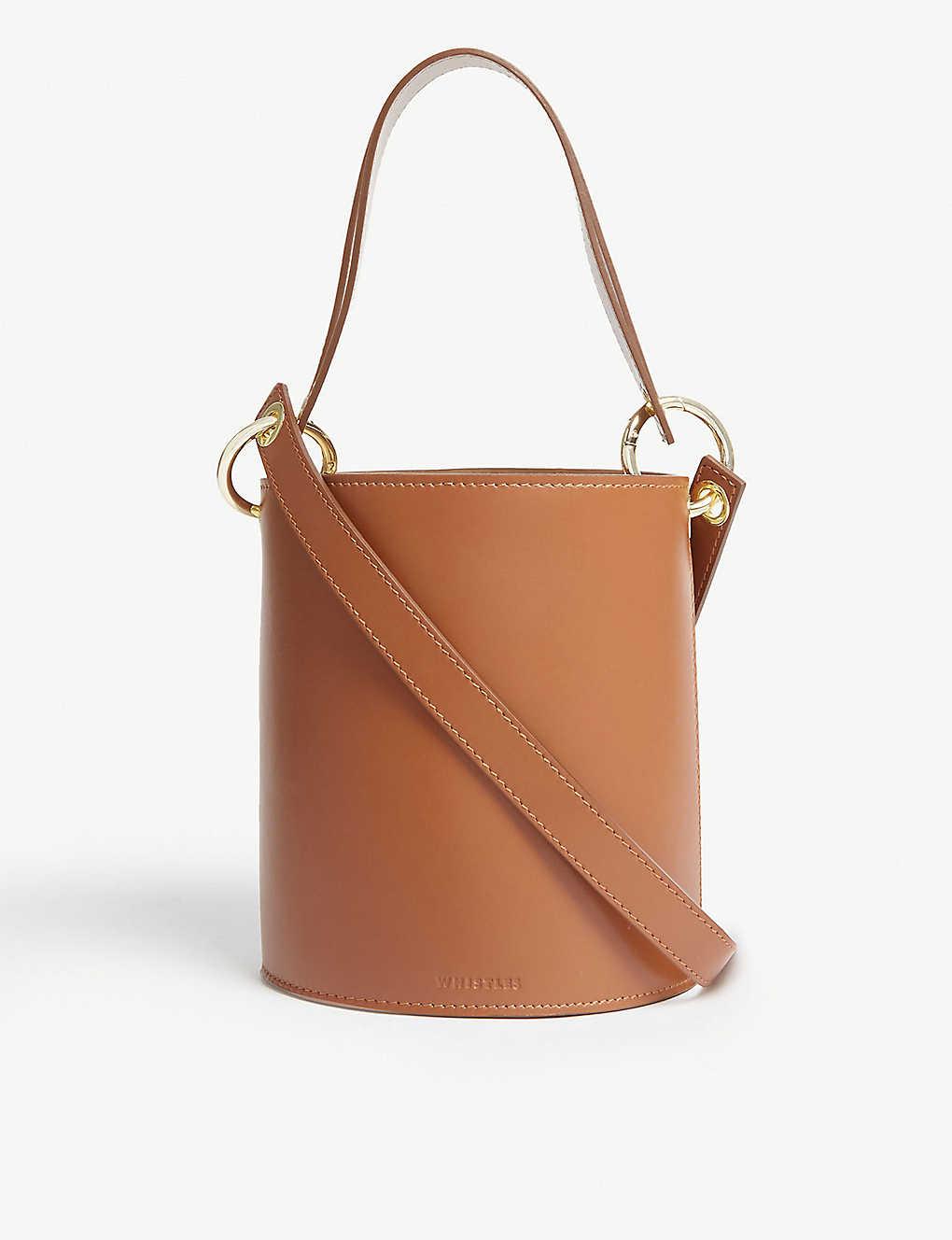 78c2d3c5452 WHISTLES - Matilda bucket bag | Selfridges.com