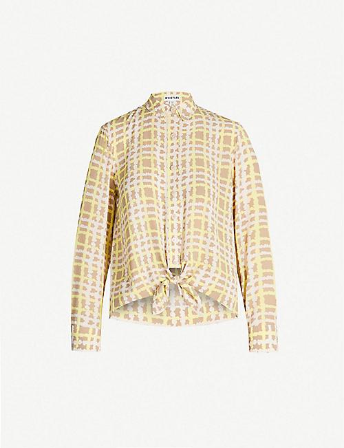 c7aa497060b73c WHISTLES - Tops - Clothing - Womens - Selfridges | Shop Online
