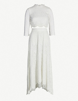 WHISTLES Ariane lace wedding co-ord set