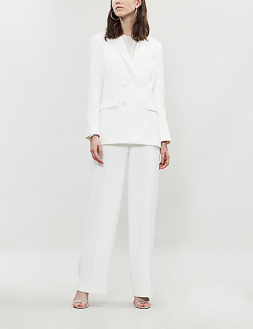 WHISTLES Annie woven wedding blazer
