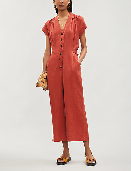 43763dcf50 WHISTLES - Jumpsuits   playsuits - Clothing - Womens - Selfridges ...