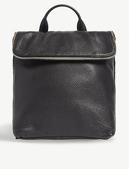 WHISTLES: Verity leather mini backpack