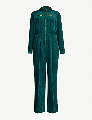 WHISTLES Zipped corduroy jumpsuit