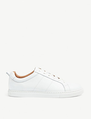 WHISTLES Koki leather trainers