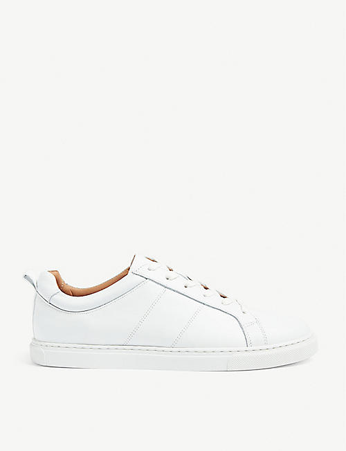 WHISTLES: Koki leather trainers