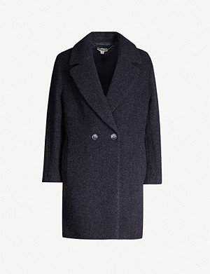 WHISTLES Double-breasted knitted coat
