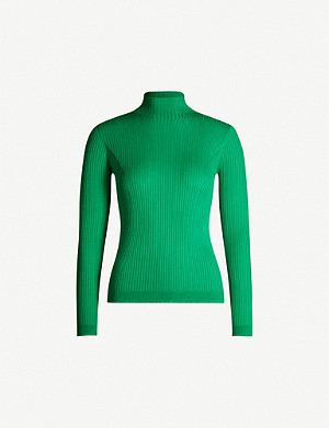 WHISTLES Carmen turtleneck knitted jumper