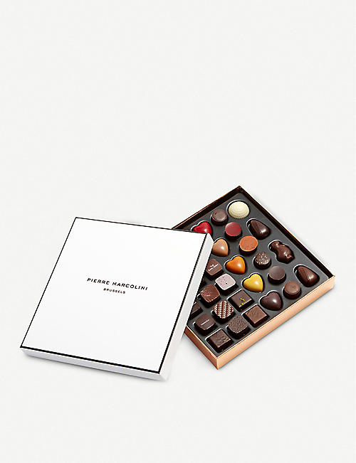 PIERRE MARCOLINI: Malline Découverte chocolate selection box of 34