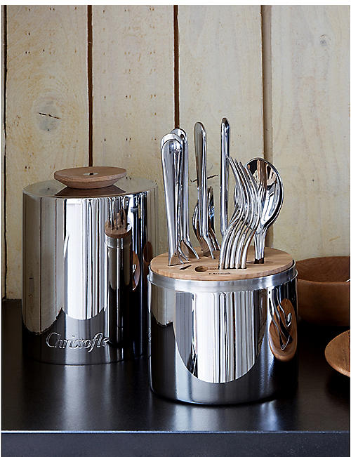 CHRISTOFLE Essential cutlery stainless steel 24 piece set
