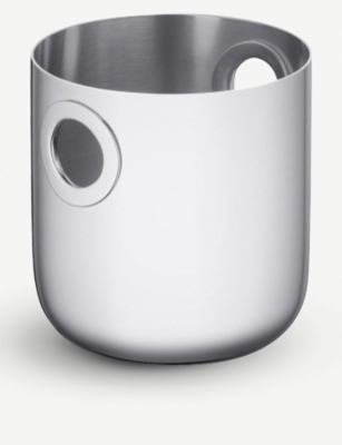 CHRISTOFLE Oh stainless steel ice bucket