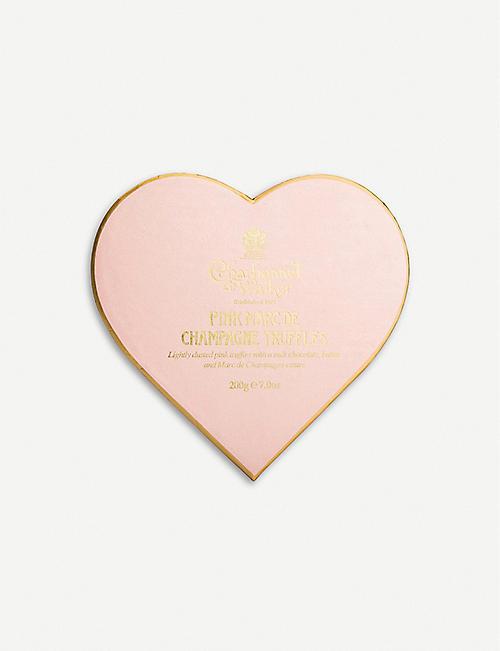 b99c91c8a1d9 CHARBONNEL ET WALKER Pink Marc De Champagne chocolate truffles 200g
