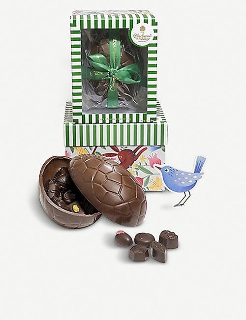 CHARBONNEL ET WALKER Dark chocolate easter egg 450g